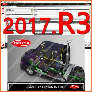 Diagnostics software for Cars Automotive trucks Vans bundle delphi 2017
