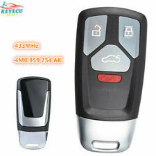 4M0 959 754 AK for Audi A4 A5 Q7 SQ5 TT 2017-2019 Smart Remote Key Fob 433MHz