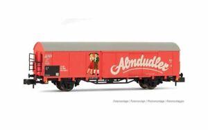 HS  Arnold HN6498 gedeckter Güterwagen  Gbs Almdudler   Ep. IV-V ÖBB