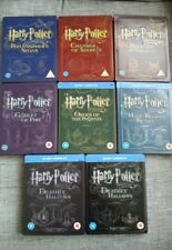 HARRY POTTER COMPLETE COLLECTION BLU RAY STEELBOOK SET - UK HMV EXCLUSIVE