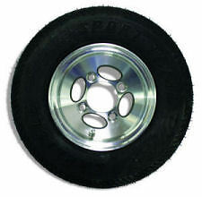 Replacement 4 Lug Aluminum Wheel and Tire Combo 4.8, Wrecker,TowTruck,Rollback