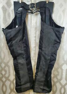 Icon Motorsports Hella Street Angel Women's Large Leather & Nylon Chaps