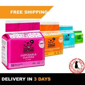 Disposable Dog Diapers Male & Female | Dog Wraps | Ultra-Absorbent - All Sizes