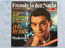 "Vinyl-7""-Cover # only Cover # Ivo Robic # Fremde in der Nacht # 1966 # vg-"