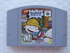 Rugrats: Scavenger Hunt Nintendo 64 N64 OEM Video Game Retro Kids GREAT