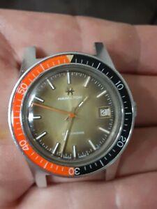 Vintage ELGIN Skin Diver /HAMILTON mod ! Beautiful watch! Unbelievable marriage!