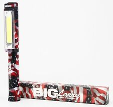 6493 NEBO USA PATRIOTIC - BIG Larry 400 Lumens COB LED Flashlight RED WHITE BLUE