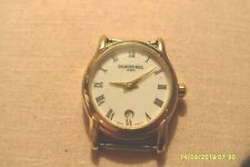 Raymond Weil 5371 Ladies Watch, DATE , 18k Gold Electroplated,10 MC  WORKING