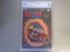Batman #25 CBCS 3.0 Comic Book 1944  Only Joker/Penguin Team Up In Golden Age