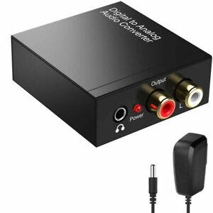 Adattatore Convertitore Audio da Digitale ad Analogico Coassiale Converter HM009