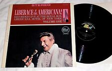 LIBERACE Live at The Americana Volume One NM Dot Stereo Penthouse Serenade