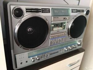 National Panasonic RX 5350  Vintage Cassette Boombox