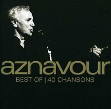 Best of 40 chansons EMI Charles Aznavour CD 01/01/1900