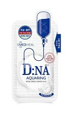 MEDIHEAL DNA Aquaring Protein Face MASK Moisture Whitening Nutrition 10 PCS