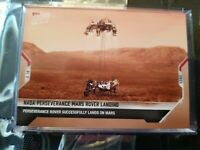 2021 TOPPS NOW NASA PERSEVERANCE MARS ROVER LANDING #1 SUCCESSFUL LANDS ON MARS