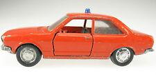 Schuco - Audi 80 - Feuerwehr - rot - 1:66 - Modellauto Model Car