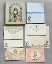 Vtg 1970s Hallmark Betsey Clark Stationery Writing Paper Envelopes Card in Box