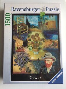 Ravensburger 1500 Puzzle -  Vincent Van Gogh Impressionists  NEW RARE
