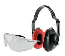 Titus Eco Ear Muff Hearing Eye Protection Shooting Range Otg Over Rx Glasses Kit