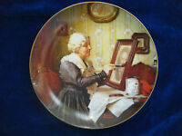 """Grandma's Love""~ 2nd issue ROCKWELL'S GOLDEN MOMENTS Series- Collector Plate"