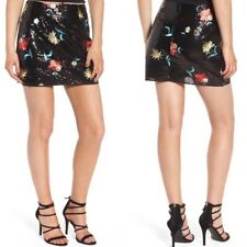 Lovers + Friends Noma Sequin Floral Mini skirt