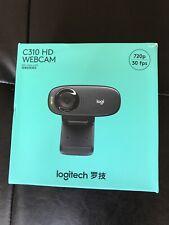 Logitech C310 (960-001000) HD Video Web Cam 720p 30fps - Black