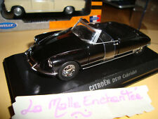 CITROEN DS 19 CABRIOLET WELLY 1/38° NEW IN BOX