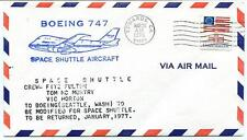 1976 Boeing 747 Space Shuttle Aircraft Fulton Mc Murty Horton NASA Edwards USA