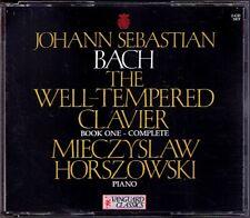 Mieczyslaw HORSZOWSKI: BACH Well-Tempered Clavier I 2CD Wohltemperierte Klavier