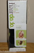 "HairDo Salon Clip-In Hair Extensions 10"" Straight GLAZED STRAWBERRY"