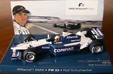 WILLIAMS BMW FW23 #5 R SCHUMACHER 2001 F1 TEAM MINICHAMPS 80420029778 1/43