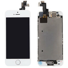 White Touch Screen Digitizer LCD Display Replacement Full Assembly for iPhone 5S