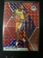 2019-20 Panini Prizm Mosaic DWIGHT HOWARD Red Prizm Parallel SP #58 LA Lakers