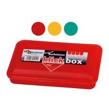 Buchsteiner 2515 Klickbox 20x13x4,0cm (Farbe zufällig, 1 Stück)