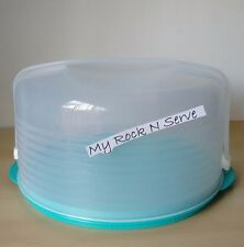 "Tupperware 12"" Dia. Large Round Cake, Pie Taker  New"