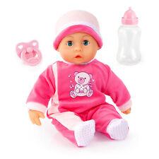 First words Baby Puppe 38 cm Funktionspuppe Schnuller Flasche von Bayer 93800APL