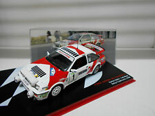 FORD SIERRA RS COSWORTH RALLY CAJALICANTE 1988 SAINZ ALTAYA IXO 1/43
