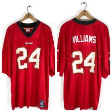 Tampa Bay Buccaneers Reebok Nfl Equipment Football Jersey 24 Williams 2Xl Red