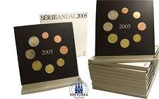 10 x Portogallo 3,88 euro 2005 stgl KMS 1 cent a 2 Euro Monete Corso throughput in folder