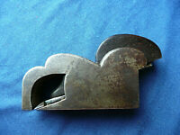 ANTIQUE GUN METAL BULL NOSE BLOCK PLANE  '' H. SLATER  LONDON ''  Vintage Tools