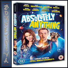 ABSOLUTELY ANYTHING -  Simon Pegg  *BRAND NEW DVD***