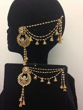 New Indian Earrings Jhumka Jhumki Bridal Jewellery Gold Bahubali Diamante
