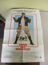 Vintage 1 sheet 27x41 Movie Poster Armed And Dangerous 1986 John Candy