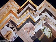 12x12 Scrapbook Paper Colorbok Wedding Bridal Ceremony Reception Bride Groom 25