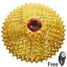 BOLANY MTB Bike 9 Speed 11-42T Gold Cassette Flywheel fit Sram Avid Shimano New