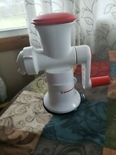 Tupperware Master System Base with Fusion Master Sorbet Maker Accessory NEW!