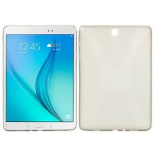 Custodia in silicone grigio per Samsung Galaxy Tab A 9.7 T550 T555 N NUOVA