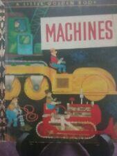 MACHINES Little Golden Book 1967 VGC
