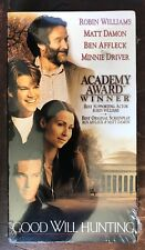Good Will Hunting New/Sealed Vhs copy '98 Robin Williams, Ben Affleck Matt Damon