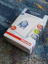 Genuine Original Miele Hoover GN HyClean Vacuum Cleaner Dust Bags + Filters